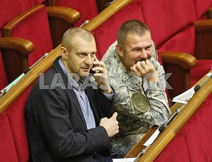 Andrey Teteruk and Yuriy Bereza