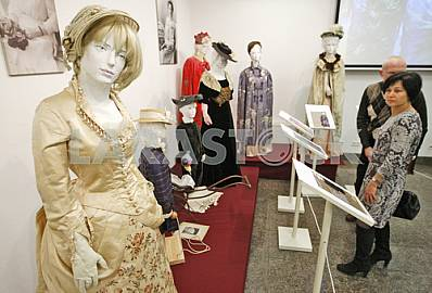 XIX The exhibition A Christmas Tale end of XIX century.