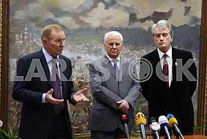 Leonid Kuchma and Leonid Kravchuk and the CGIL