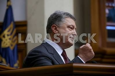 President Poroshenko addressed the leader of the Supreme Rada
