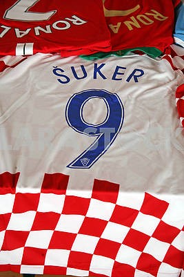 Suker original football jersey