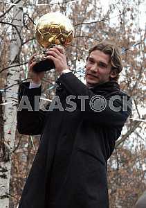 "Andriy Shevchenko from the ""Golden Ball"""