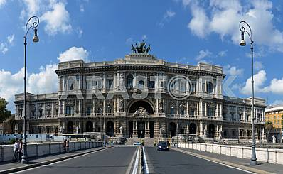 ROME, ITALY - SEPTEMBER 12 2014: The Supreme Court of Cassation
