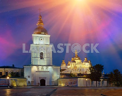 Evening down the golden domes