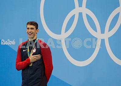 Michael Phelps, Olympic champion in 2016