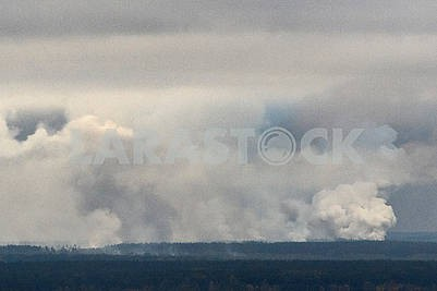Explosions in military warehouses in Ichnya