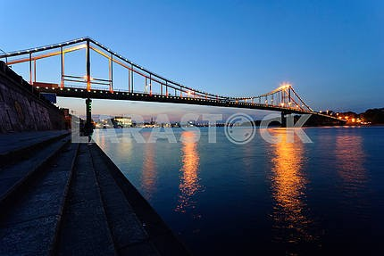 The bridge through Dnepr