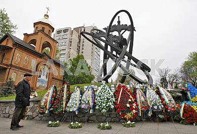 The meeting requiem on the occasion of 30 th anniversary of the Chernobyl disaster