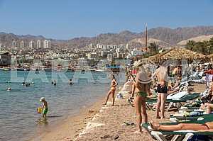 Beach in Eilat