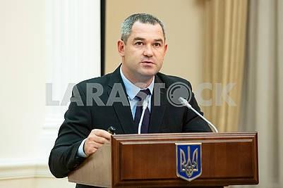 Head of GFS Miroslav Prodan