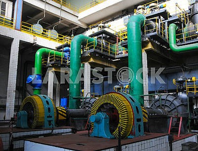 Sewage pumping station