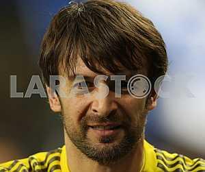 "Goalkeeper of FC ""Dynamo"" (Kiev), Oleksandr Shovkovskiy"