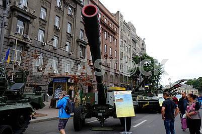 Hyacinth B, cannon 152 mm