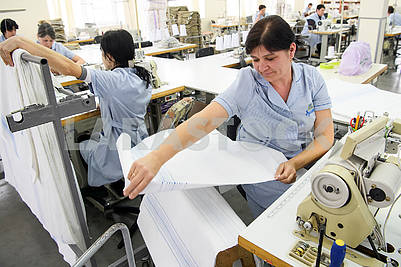 Seamstresses in the workshop