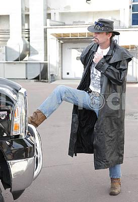 Sean Carr - rock musician, biker