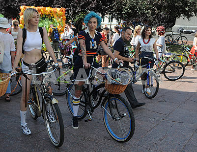 Bicycle Parade Participants