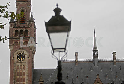 Clock on the Tower of the International Court of Justice