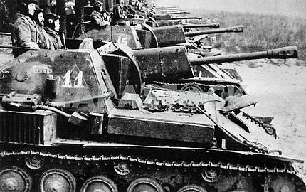 Self-propelled gun SU-76