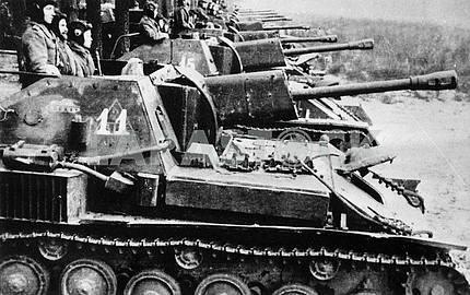 Self-propelled gun SU-76