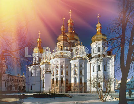 main cathedral church of the Kiev-Pechersk Lavra