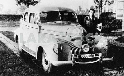German car Crysler Royal. The Second World War