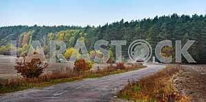 Autumn, the road
