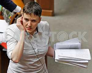 Savchenko came to the Verkhovna Rada