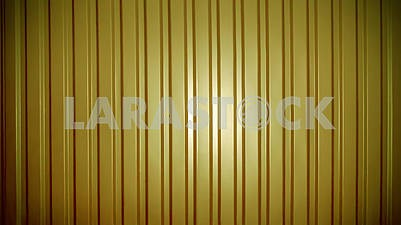 Background of yellow corrugated metal sheet