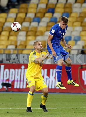 Football Ukraine-Iceland, World Cup Qualifiers 2018