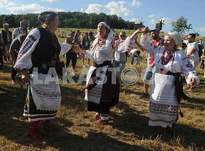 Celebration of Ivan Kupala in Pirogovo