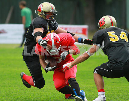 match on the American football teams