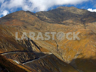 Rocky Mountains in Tusheti