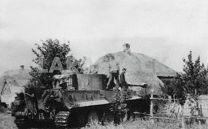 German heavy tank Tiger T-VI (H)