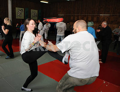 "Practical seminar ""Female self-defense"""