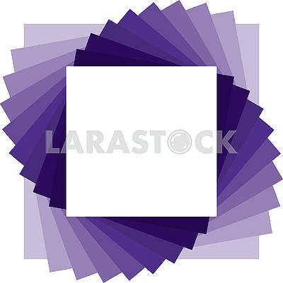 Simple abstract square purple background