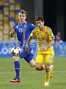 Football Ukraine-Iceland, World Cup Qualifiers 2018