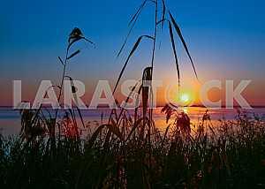 Evening at the Kiev Sea.
