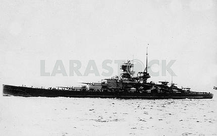 German battleship SCHARNHORST