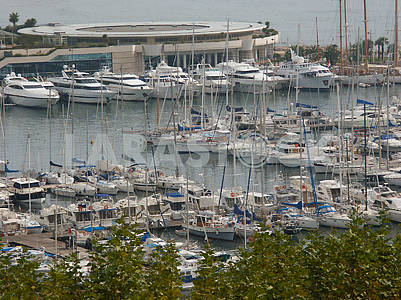 Yacht club in Cannes