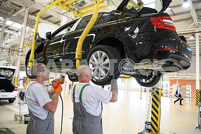 Assembly shop Eurocar