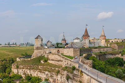 Old Castle in Kamyanets-Podilskyi