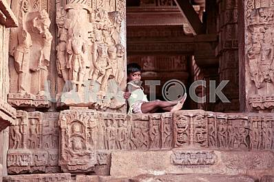 Children played in the temples of love