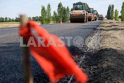 Construction of the road Kalyivivka-Snigurivka-Berezneguvate