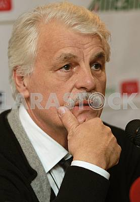 Italian actor Michele Placido in Kiev, November 5, 2010
