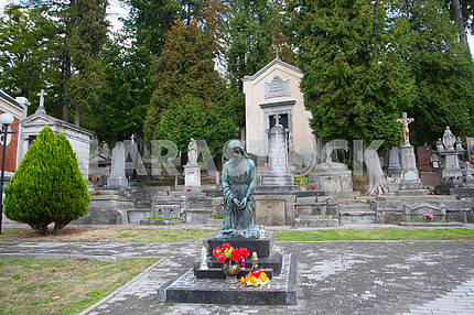 Monuments on the Lychakiv Cemetery