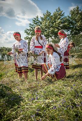 Girls on a holiday of Ivan Kupala