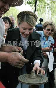 Yulia Tymoshenko in Pirogovo