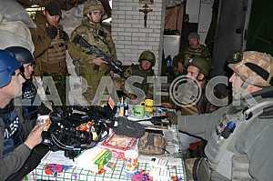 Defenders of the Avdeevskaya industrial zone