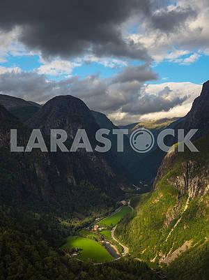 The Steinklep Mountain Range