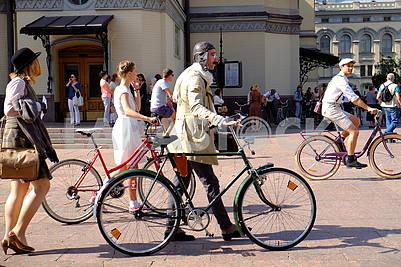Bicycle Parade Participants